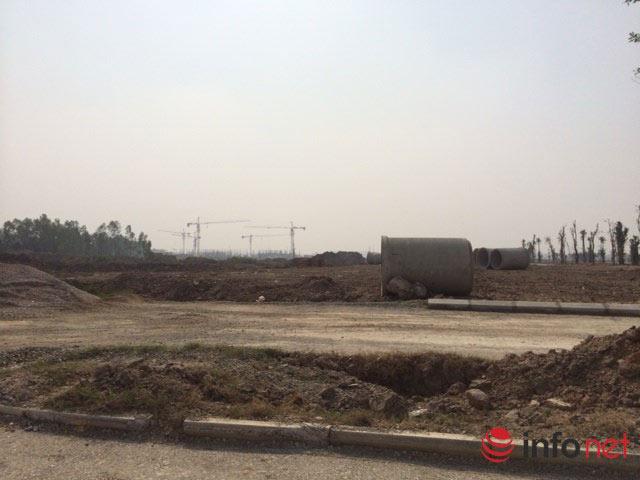 Khu đô thị Thanh Hà khá hiu h���t lúc tất cả Công trình là đất cánh đồng, ao biển.