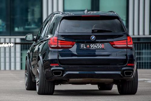 BMW X5 độ mâm Vossen 22 inch mạnh mẽ - 5