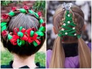 """Làm đẹp - Những kiểu tóc """"độc lạ"""" chào đón Giáng sinh"""