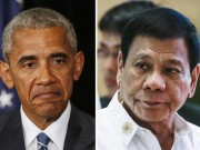 Tổng thống Philippines giả ốm tránh gặp Obama