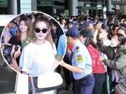 Ca nhạc - MTV - Nhóm nữ 18+ xứ Hàn gây náo loạn sân bay Tân Sơn Nhất