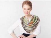 Thời trang - Cách mới cực hay để thắt khăn xinh trong mùa đông này