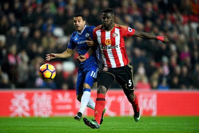 Chi tiết Sunderland - Chelsea: Người hùng Courtois (KT) - 5