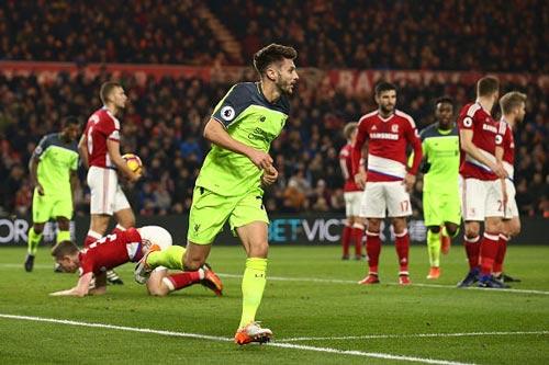 Middlesbrough - Liverpool: 3 điểm nhờ