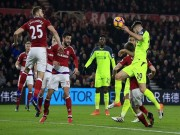 """Bóng đá - Middlesbrough - Liverpool: 3 điểm nhờ """"3 nháy"""""""