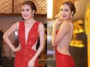 Ca nhạc - MTV - Hoàng Thuỳ Linh diện váy xẻ sâu tại lễ trao giải âm nhạc