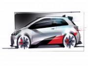 Toyota Yaris Gazoo mới sắp ra mắt