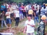 An ninh Xã hội - Phát hiện xác phụ nữ lõa thể bị đốt cháy tại nghĩa trang