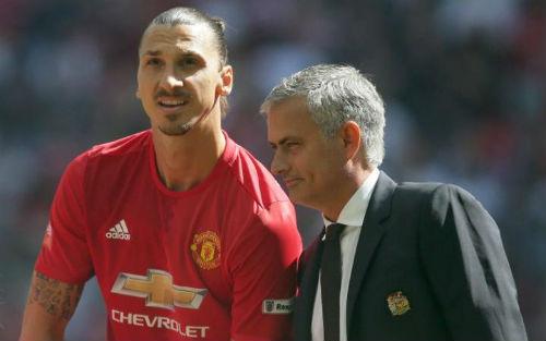 """Mourinho tuyên bố Ibra """"bất khả xâm phạm"""" ở MU"""