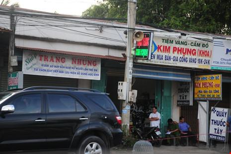 Nhân chứng kể lại vụ cướp tiệm vàng ở Tây Ninh