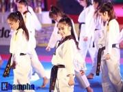 Thể thao - Taekwondo: Châu Tuyết Vân múa côn, đánh quyền ấn tượng