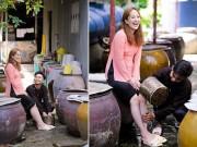 Ca nhạc - MTV - Phan Hiển vừa tỏ tình, vừa rửa chân cho bà xã Khánh Thi