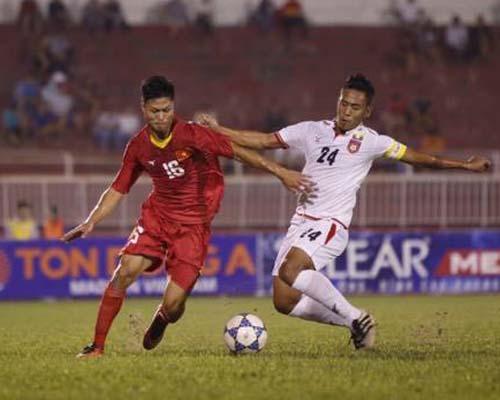 U21 Việt Nam - U21 Myanmar: Phút bù giờ nghiệt ngã