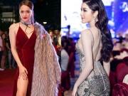 Thời trang - Huyền My nổi bật nhất tuần với váy phô bày 80% cơ thể