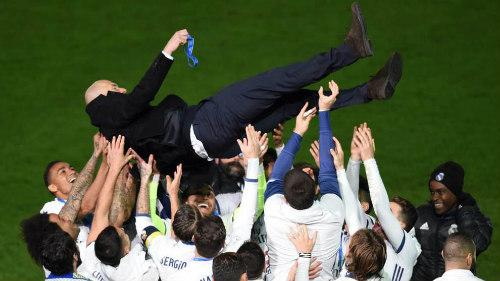 HLV Zidane là một người thầy xứng đáng được các học trò nể phục