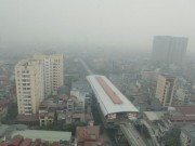 Tin tức trong ngày - Ảnh: Giữa trưa, Hà Nội vẫn chìm trong sương mù