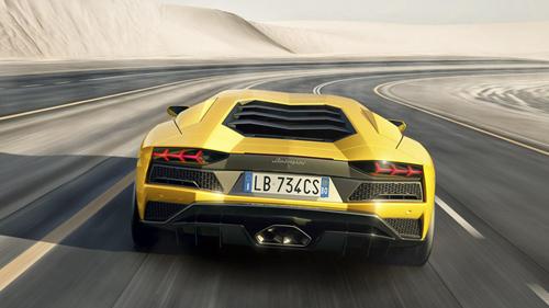 Nóng: Lamborghini Aventador S bất ngờ trình làng - 4