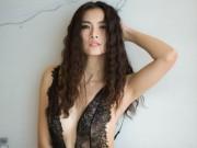 Thời trang - Siêu mẫu Anh Thư nóng bỏng từng cm với nội y ren