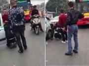 Tin tức trong ngày - Quỳ xuống van xin, tài xế taxi vẫn bị đánh tới tấp