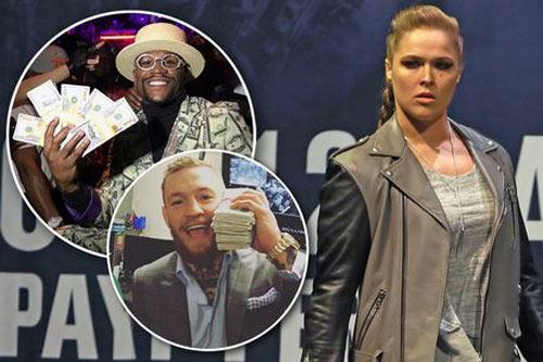 """Nữ hoàng UFC"" ""chửi"" cả McGregor lẫn Mayweather"
