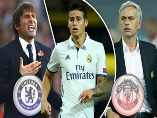 James Rodriguez rời Real: MU hay Chelsea, ai nhanh hơn