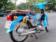 Xe máy - Xe đạp - Ngắm Honda Cub 50 độ với đồ chơi hàng hiệu khủng