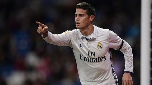 Real Madrid: James chờ nối gót Rô béo, Nistelrooy