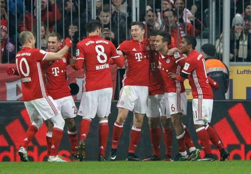 Bayern Munich - Leipzig: Tan hoang trong hiệp 1 - 1