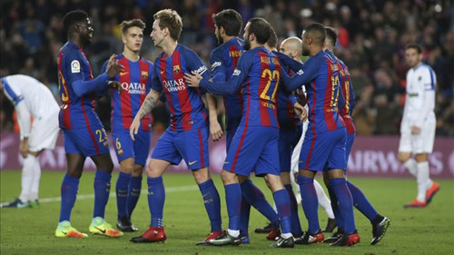 (New) Barcelona 7-0 Hercules: Chiến thắng ngọt ngào