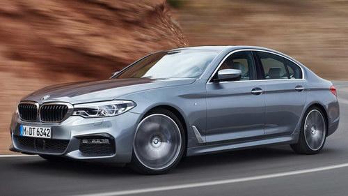 BMW 5-Series 2017 có giá từ 1,2 tỷ đồng