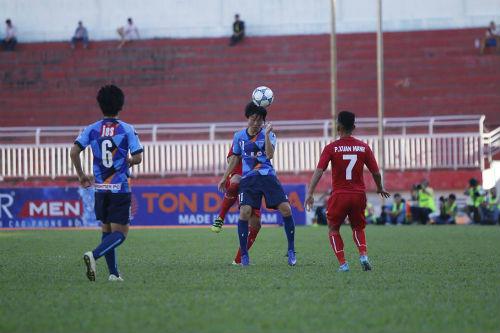 U21 Việt Nam - U21 Yokohama: Nỗ lực đáng khen - 1