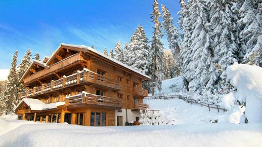 Đã mắt ngắm 10 nhà nghỉ trượt tuyết đẹp nhất thế giới