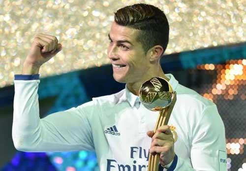QBV Ronaldo: Vua mạng xã hội 2016, hút 34 triệu like - 1