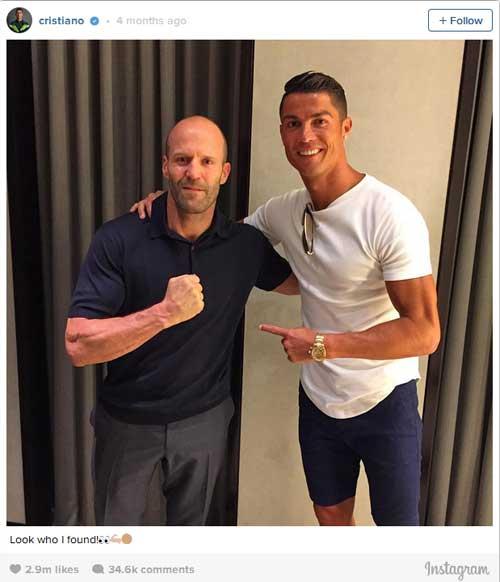 QBV Ronaldo: Vua mạng xã hội 2016, hút 34 triệu like - 6