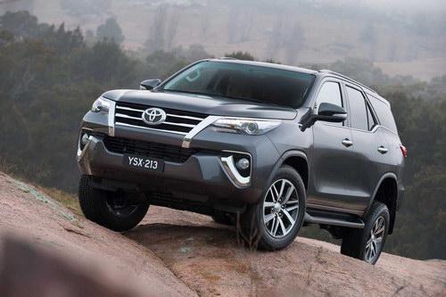 Toyota Fortuner mới ấn định ngày ra mắt Việt Nam