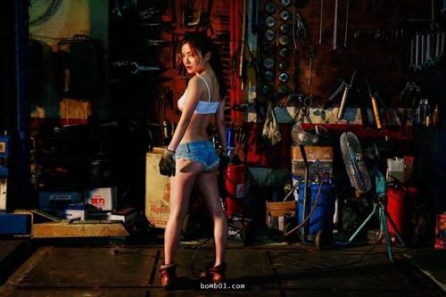 Hot girl sửa xe ngực khủng được báo Đài ca ngợi hết lời - 6