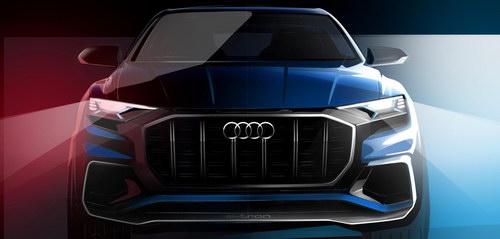 Audi Q8 hoàn toàn mới lộ thiết kế tuyệt đẹp