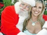 """Tranh vui - Giật mình với hình ảnh """"hiếm thấy"""" của ông già Noel"""