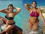 Thời trang - Cô béo Hollywood diện bikini gợi tình, mơ làm thiên thần