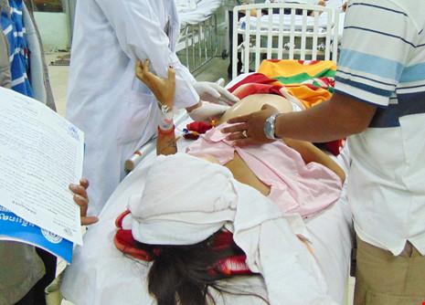 Sản phụ bị nhiễm trùng sau khi mổ ruột thừa - 1