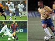 "Ronaldo béo: Hai thập kỷ, 256  "" cú xâu kim """