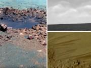 Hình ảnh của NASA cho thấy sao Hỏa có nước và mây?
