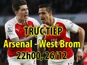 Chi tiết Arsenal - West Brom: Dâng trào cảm xúc (KT)