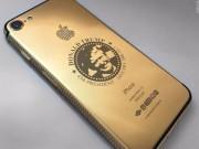 """Thời trang Hi-tech - iPhone 7 in hình Donald Trump, đính kim cương giá """"khủng"""""""