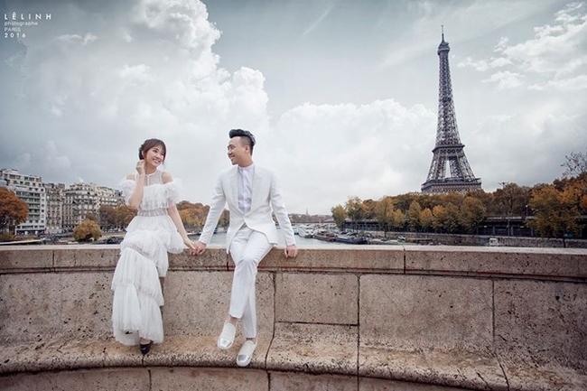 Trọn bộ ảnh cưới tuyệt đẹp của vợ chồng Trấn Thành chụp tại Paris