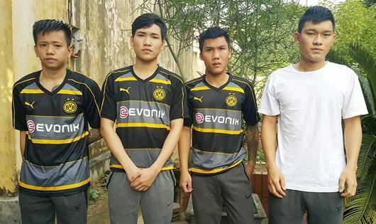 Bắt 4 đối tượng bị truy nã khi trốn tại Hà Nội