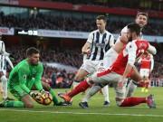 """Bóng đá - Arsenal - West Brom: Vỡ òa vì """"cái đầu vàng"""""""