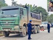 """Tin tức trong ngày - """"Chim lợn"""" cản trở thanh tra xử lý xe quá tải"""