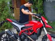 Thế giới xe - Ngắm Ducati Hypermotard độ cực độc của Johnny Trí Nguyễn