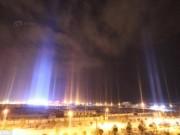 """Thế giới - TQ: Xuất hiện cột sáng như """"người ngoài hành tinh đổ bộ"""""""